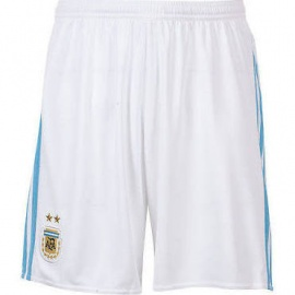 Argentina Home Shorts 15/16 White Color