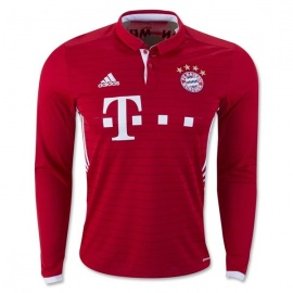 Bayern Munchen Home Long Sleeves 16/17