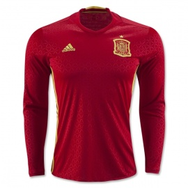 Spain Home Long Sleeves 16/17