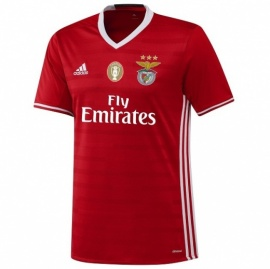 Benfica Home 16/17 with CAMPEÃO patch